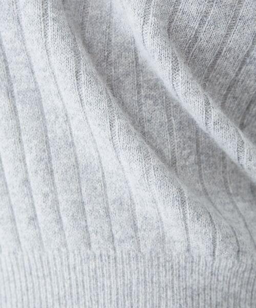 Rouge vif la cle / ルージュ・ヴィフ ラクレ ニット・セーター | フォックス混2WAYニット | 詳細4
