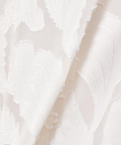 Rouge vif la cle / ルージュ・ヴィフ ラクレ シャツ・ブラウス | ペイズリージャガードハイネックブラウス【予約】 | 詳細4