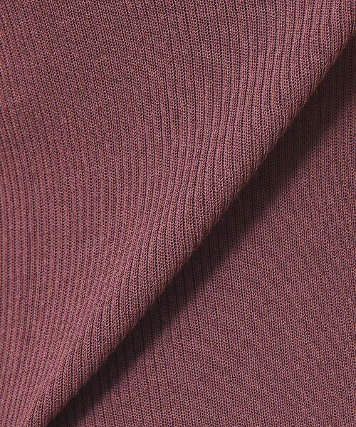 Rouge vif la cle / ルージュ・ヴィフ ラクレ ニット・セーター | ボートネックリブニット | 詳細14