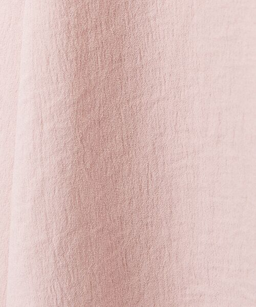 Rouge vif la cle / ルージュ・ヴィフ ラクレ ロング・マキシ丈スカート | アンティークジョーゼットスカート | 詳細10