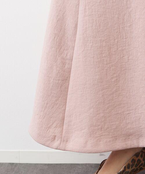 Rouge vif la cle / ルージュ・ヴィフ ラクレ ロング・マキシ丈スカート | アンティークジョーゼットスカート | 詳細9