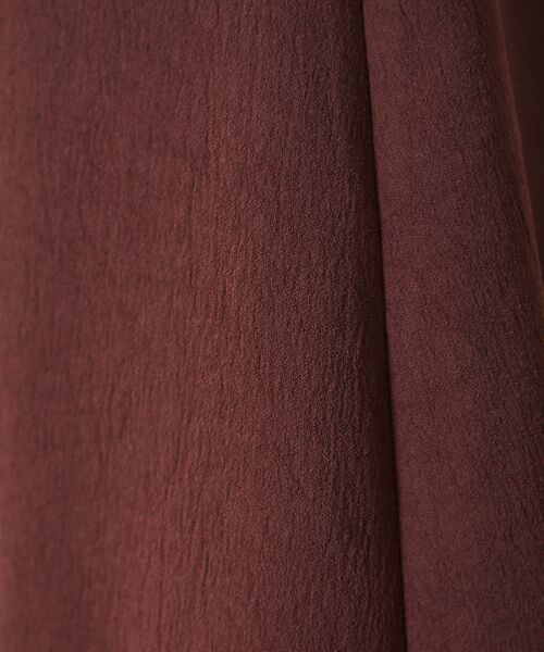 Rouge vif la cle / ルージュ・ヴィフ ラクレ ロング・マキシ丈スカート | アンティークジョーゼットスカート | 詳細14