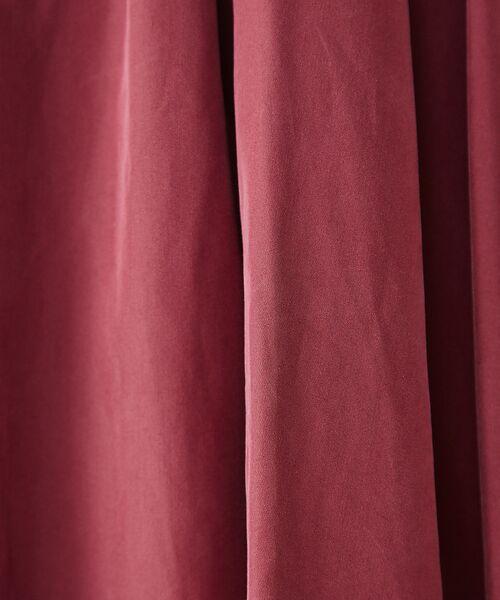 Rouge vif la cle / ルージュ・ヴィフ ラクレ ワンピース | ベルト付ショルダータックワンピース【予約】 | 詳細10