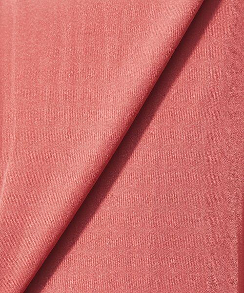 Rouge vif la cle / ルージュ・ヴィフ ラクレ ワンピース | ピーチサテンギャザーワンピース | 詳細11