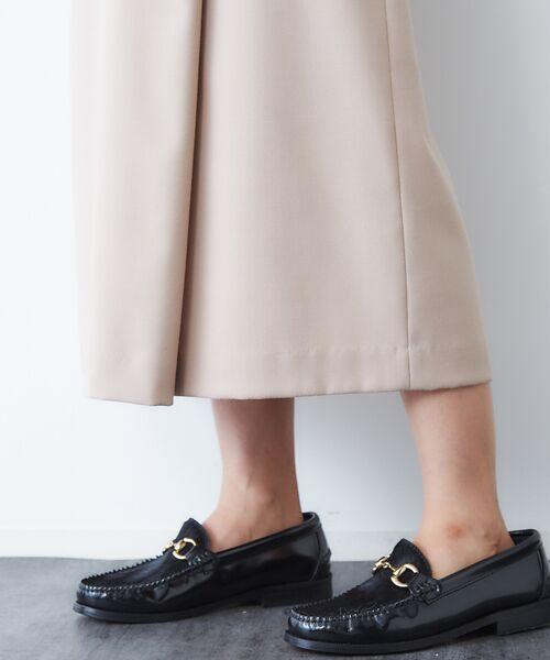 Rouge vif la cle / ルージュ・ヴィフ ラクレ ロング・マキシ丈スカート | サキソニーポケット付スカート | 詳細8