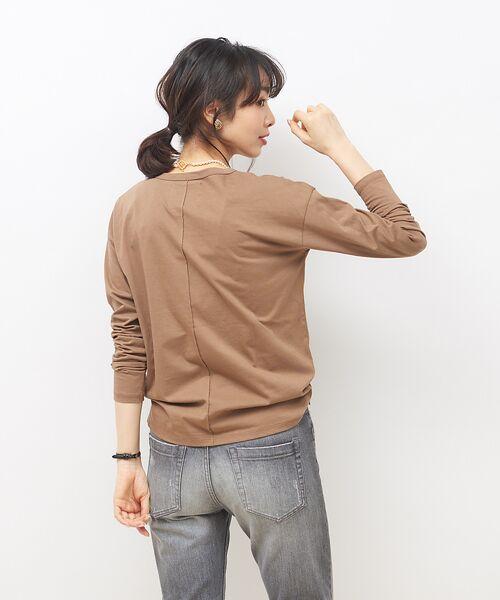 Rouge vif la cle / ルージュ・ヴィフ ラクレ Tシャツ | 【MICA&DEAL】WEB限定ロゴプリントロングTシャツ【予約】 | 詳細4