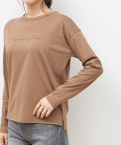 Rouge vif la cle / ルージュ・ヴィフ ラクレ Tシャツ | 【MICA&DEAL】WEB限定ロゴプリントロングTシャツ【予約】 | 詳細8