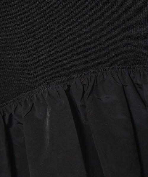 Rouge vif la cle / ルージュ・ヴィフ ラクレ ニット・セーター | 【MICA&DEAL】異素材切り替えボトルネックニット | 詳細15