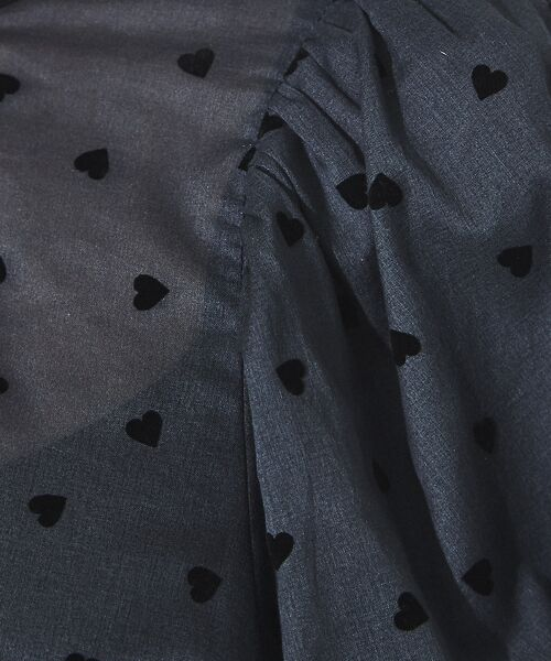 Rouge vif la cle / ルージュ・ヴィフ ラクレ シャツ・ブラウス | フロッキーハートブラウス【予約】 | 詳細13