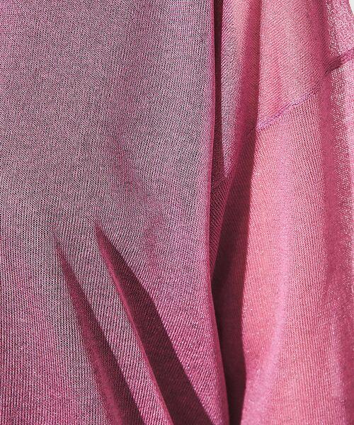 Rouge vif la cle / ルージュ・ヴィフ ラクレ ニット・セーター | シアーニットTシャツ【予約】 | 詳細8