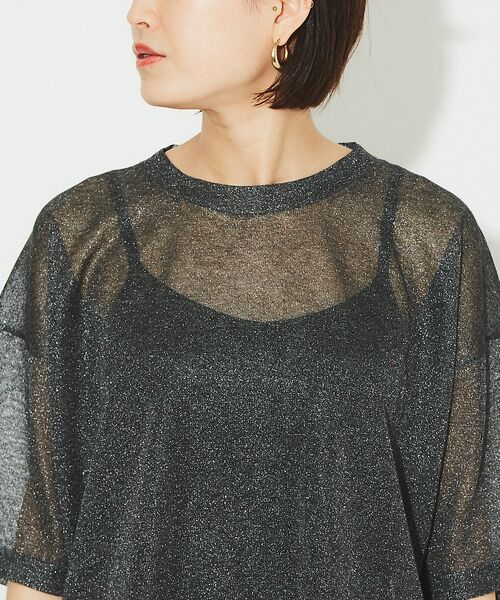 Rouge vif la cle / ルージュ・ヴィフ ラクレ ニット・セーター | シアーニットTシャツ【予約】 | 詳細15
