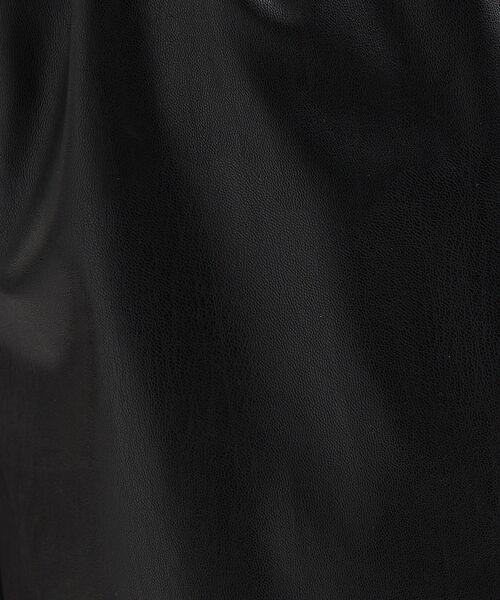 Rouge vif la cle / ルージュ・ヴィフ ラクレ ショート・ハーフ・半端丈パンツ   フェイクレザーハーフパンツ【予約】   詳細10