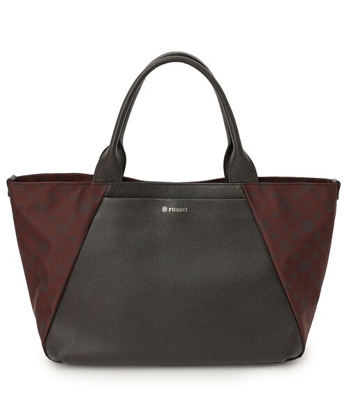 Leather Combi Tote Bag