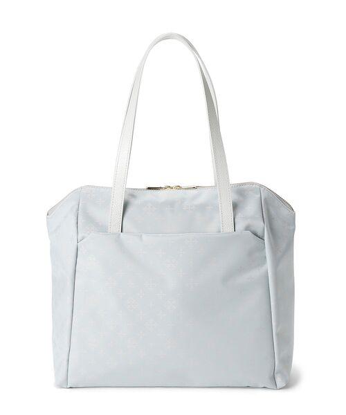 russet / ラシット ボストンバッグ | Square Tote Bag(ライトブルー)
