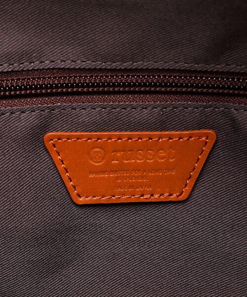 russet / ラシット ボストンバッグ | Square Tote Bag | 詳細9