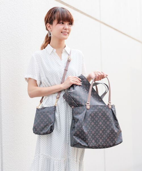 russet / ラシット トートバッグ | NEW 3 SET BAG【WEB LIMITED】(グレー)