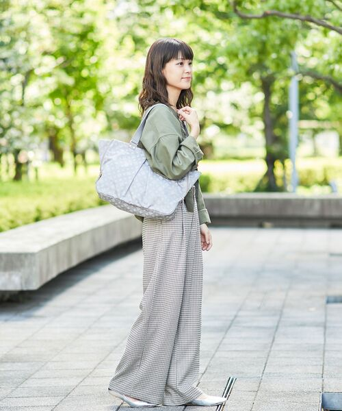 russet / ラシット トートバッグ | WING TOTE(ライトグレー)