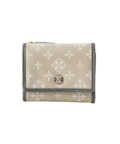 russet / ラシット 財布・コインケース・マネークリップ | 三つ折り財布(S)(ライトグレー)