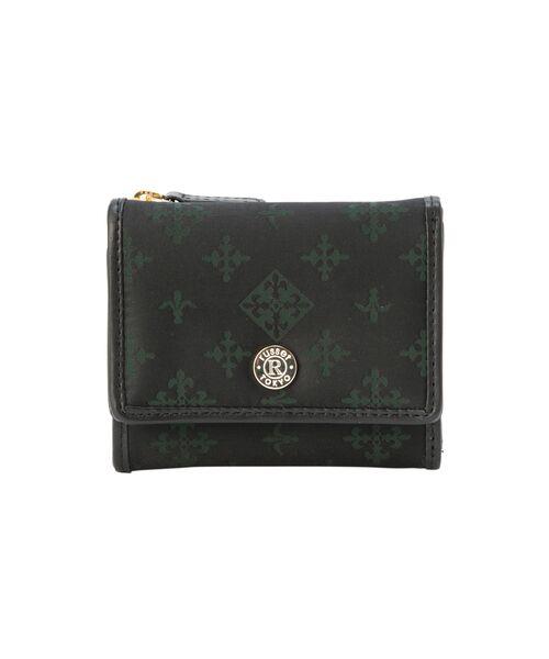 russet / ラシット 財布・コインケース・マネークリップ | 三つ折り財布(S)(ブラック)