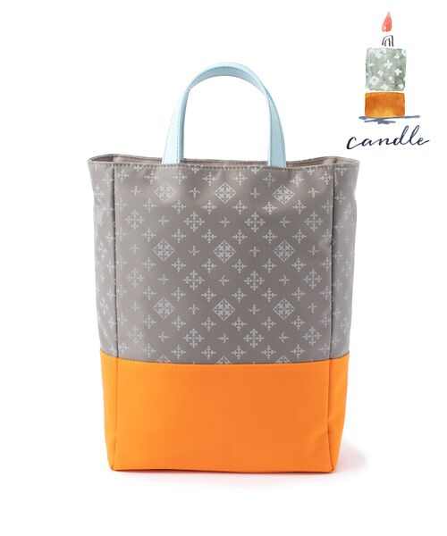 russet / ラシット トートバッグ   CANDLE(CE-300)(ライトグレー)