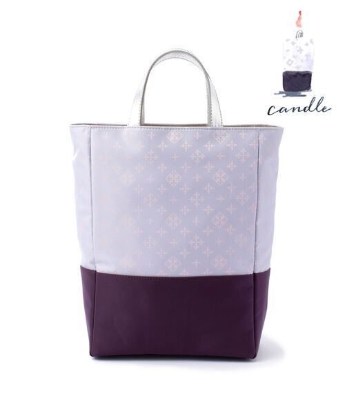 russet / ラシット トートバッグ   CANDLE(CE-300)(パープル)