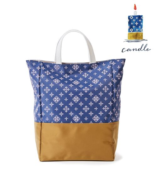 russet / ラシット トートバッグ | CANDLE(CE-300)(ブルーその他1)