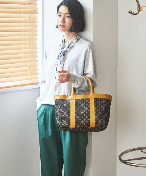 russet / ラシット トートバッグ   【VINTAGE COLLECTION】ライントート(CE-895-WEB)(ダークブラウン)