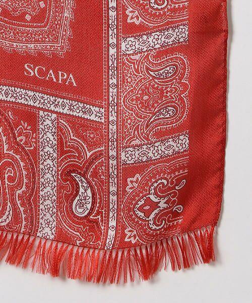 SCAPA / スキャパ マフラー・ショール・スヌード・ストール | ペイズリーシルクギシャストール | 詳細6