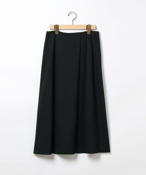 SCAPA / スキャパ ミニ・ひざ丈スカート | リオペルスカート(ネイビー)