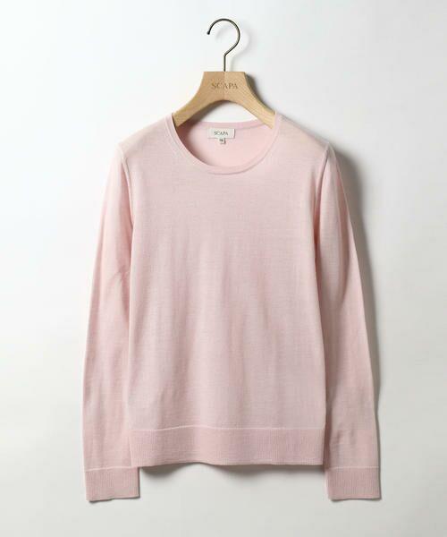 SCAPA / スキャパ ニット・セーター | カシウール 1ニット(ピンク)