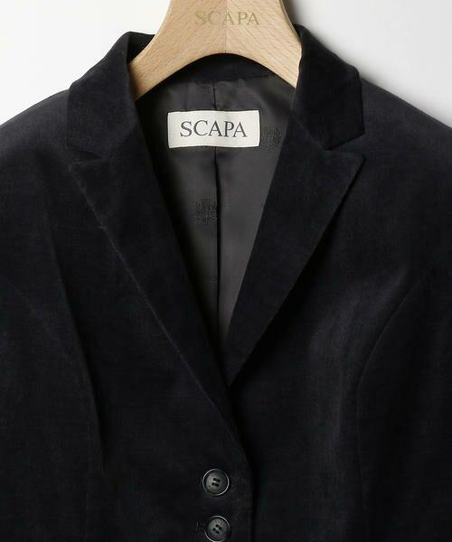SCAPA / スキャパ テーラードジャケット | レッジャーニマイクロコールジャケット | 詳細2