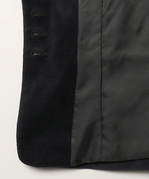 SCAPA / スキャパ テーラードジャケット | レッジャーニマイクロコールジャケット | 詳細6
