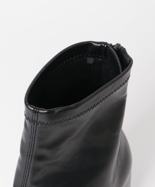 SENSE OF PLACE by URBAN RESEARCH / センスオブプレイス バイ アーバンリサーチ ブーツ(ショート丈) | スクエアトウセンターシームストレッチブーツ | 詳細28