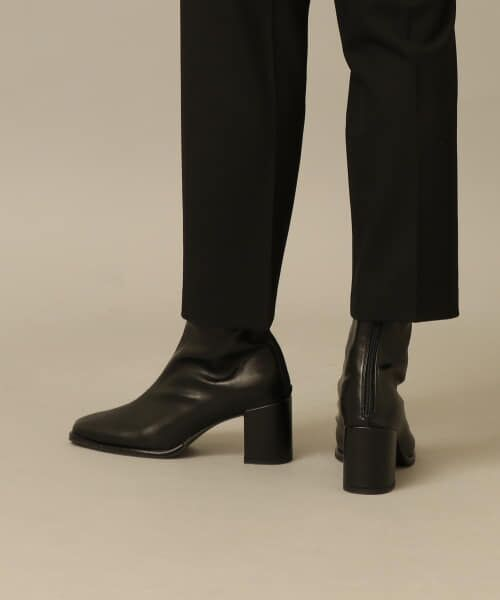 SENSE OF PLACE by URBAN RESEARCH / センスオブプレイス バイ アーバンリサーチ ブーツ(ショート丈) | スクエアトウセンターシームストレッチブーツ | 詳細6
