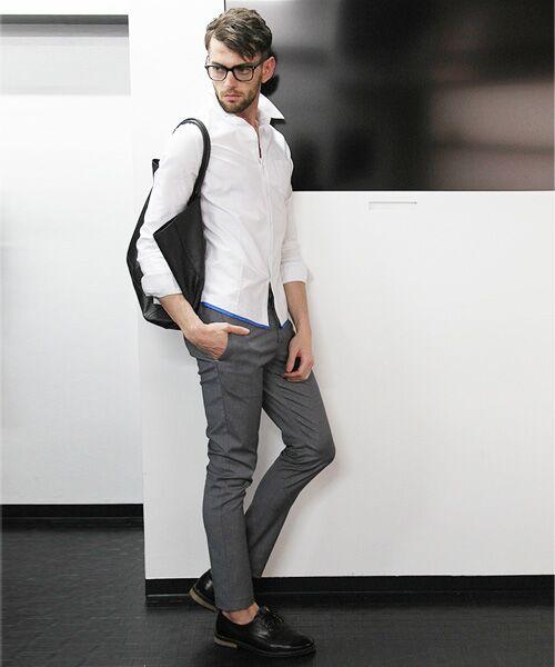 SHIFFON / シフォン シャツ・ブラウス | 【AKM Contemporary】裾カラーパイピングオックスシャツ | 詳細8
