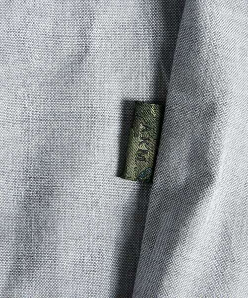 SHIFFON / シフォン シャツ・ブラウス | 【AKM Contemporary】裾カラーパイピングオックスシャツ | 詳細17