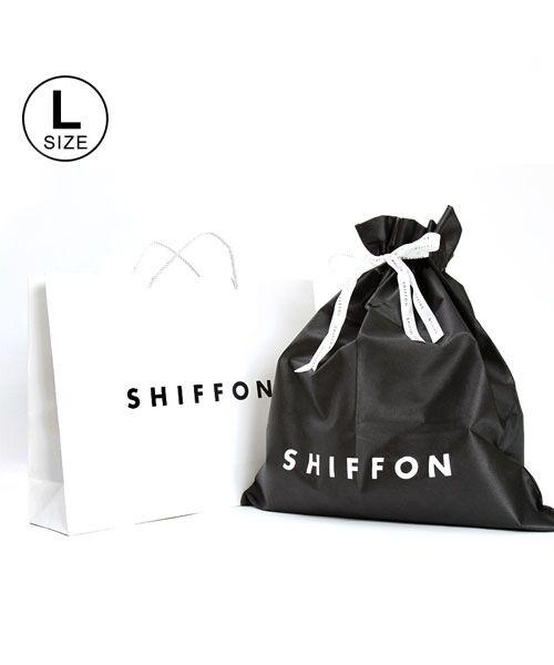 SHIFFON / シフォン ギフト | SHIFFON ORIGINAL ギフトキットLサイズ(ホワイト×ブラック)