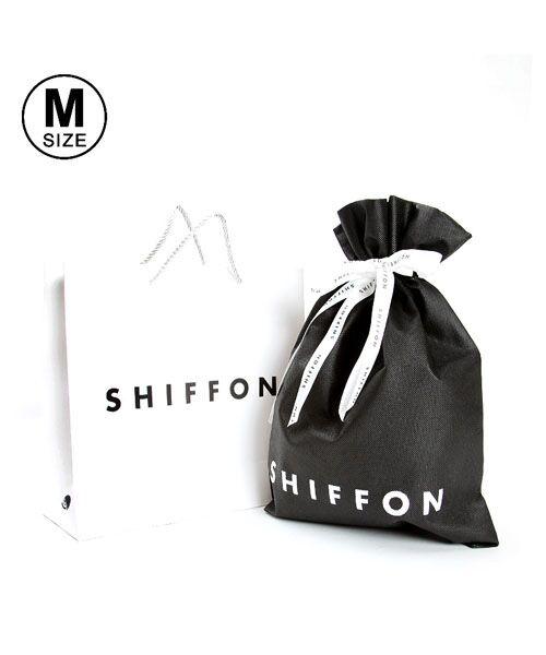 SHIFFON / シフォン ギフト | SHIFFON ORIGINAL ギフトキット Mサイズ(ホワイト×ブラック)