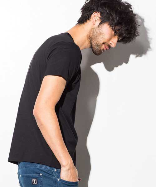 SHIFFON / シフォン Tシャツ | ポケット付アイコンプリントTシャツ | 詳細4
