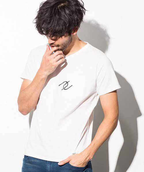 SHIFFON / シフォン Tシャツ | ポケット付アイコンプリントTシャツ | 詳細5