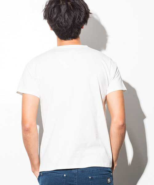 SHIFFON / シフォン Tシャツ | ポケット付アイコンプリントTシャツ | 詳細8