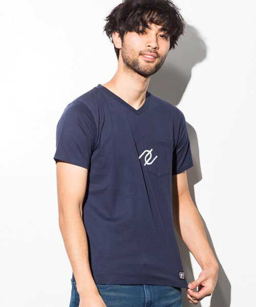 SHIFFON / シフォン Tシャツ | ポケット付アイコンプリントTシャツ | 詳細9