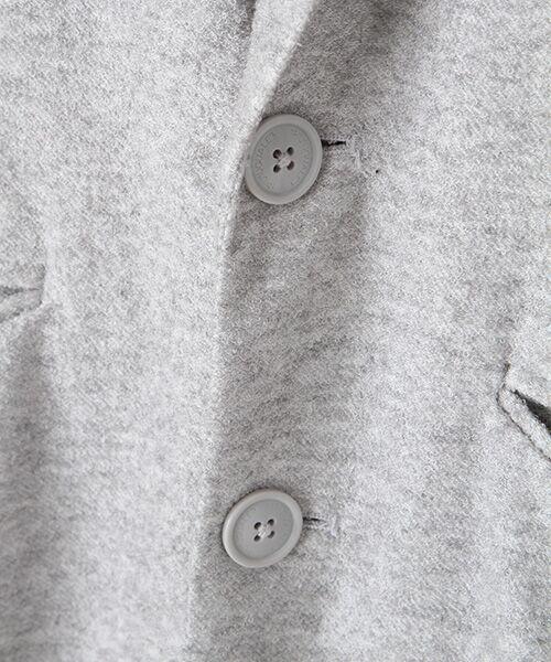 SHIFFON / シフォン テーラードジャケット | パイルテーラードジャケット | 詳細5