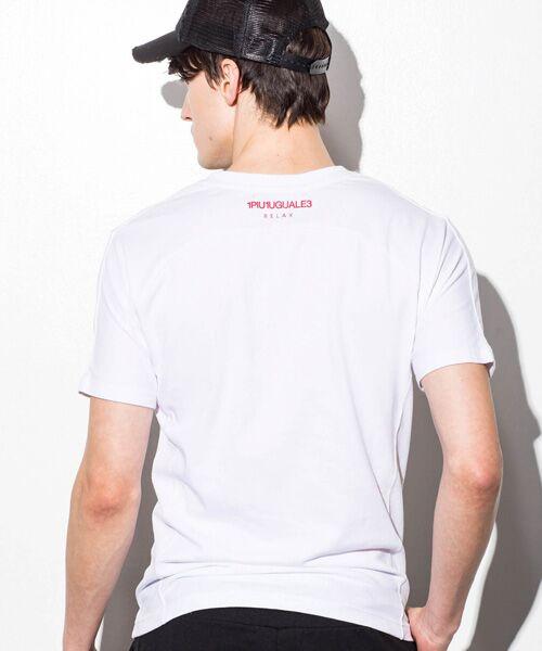 SHIFFON / シフォン Tシャツ | ボックスロゴプリントTシャツ | 詳細2