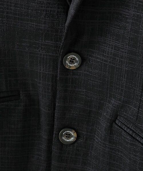 SHIFFON / シフォン テーラードジャケット | ストレッチジャガードテーラードジャケット | 詳細4