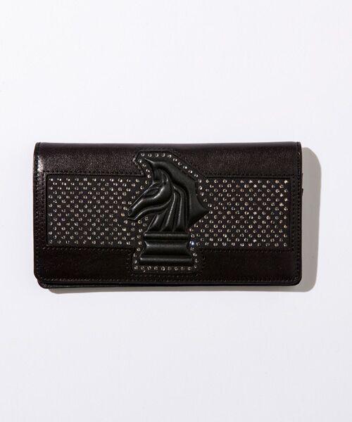 3a5c8a30c957 SHIFFON / シフォン 財布・コインケース・マネークリップ | ラインストーンナイトロングウォレット/