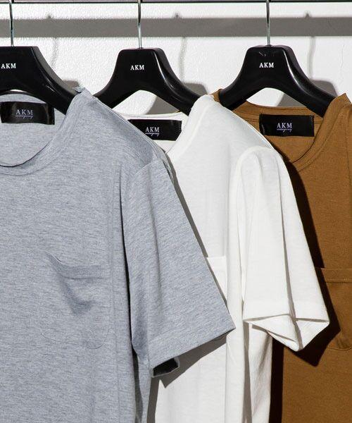 SHIFFON / シフォン Tシャツ   カットオフポケットTシャツ   詳細3