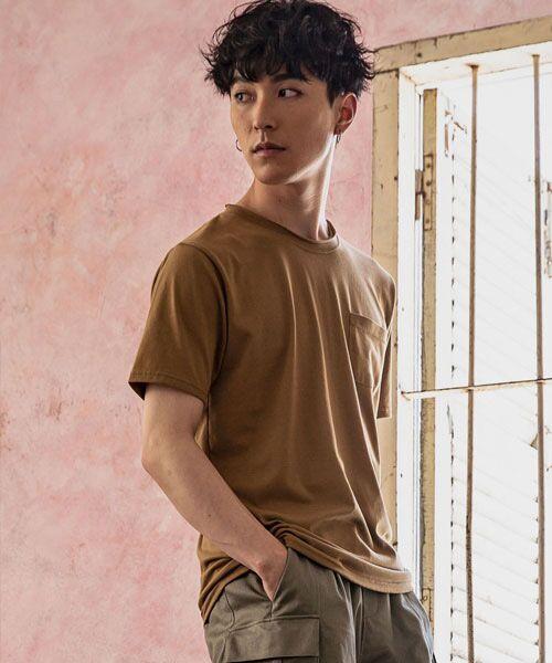SHIFFON / シフォン Tシャツ   カットオフポケットTシャツ   詳細4