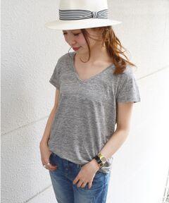 <a href=http://www.selectsquare.com/shop-women/ships?sale_yn=1><font color=red><b>SHIPSのセールアイテム一覧はこちら</b></font></a><br><br>毎年人気のリネン素材のTシャツが登場♪<br>とっても涼しく、リネンならではの風合いが可愛いTシャツ。女性らしいVネックで、着回し力抜群です!!<br><br>※こちらの商品は生地の表面にネップが見られる場合があります。麻素材の特性としてその風合いをお楽しみ下さい。<br>※末永く愛用頂く為に、アテンションタグ・洗濯ネームを必ずご確認の上、着用又はお取り扱い下さい。<br><br><font color=RED>※画像の商品はサンプルです。 </b></font><br>実際の商品と仕様、加工、サイズが若干異なる場合がございます。