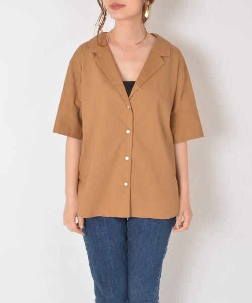 SHIPS for women / シップスウィメン シャツ・ブラウス   Prefer SHIPS:オープンカラーシャツ   詳細1
